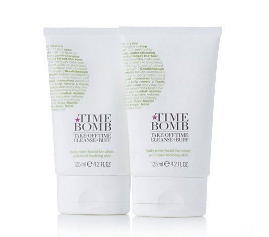 Lulu's Time Bomb Take Off Time Cleanser 125ml Duo