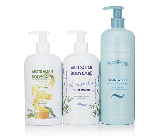 Australian Bodycare A Trio Of Skinwash