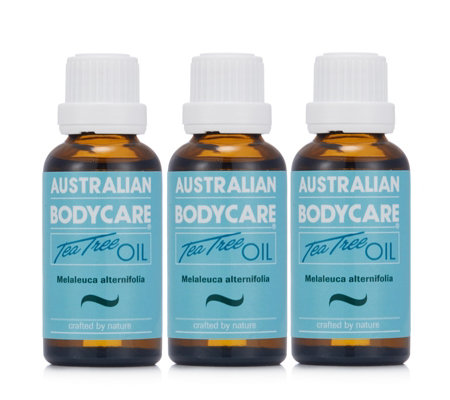 Australian Bodycare Tea Tree Oil 30ml Trio