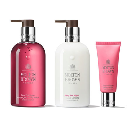 Molton Brown Fiery Pink Pepper Hand Trio