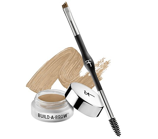 IT Cosmetics Build-A-Brow 5 in 1 Creme Gel Stain with Brush