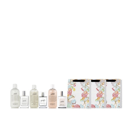 Philosophy 6 Piece Luxurious Grace Fragrance Layering Collection