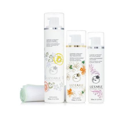 Liz Earle Invigorate Your Senses Cleanse & Polish Trio