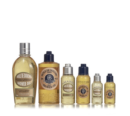 L'Occitane 6 Piece Shower Oil Collection