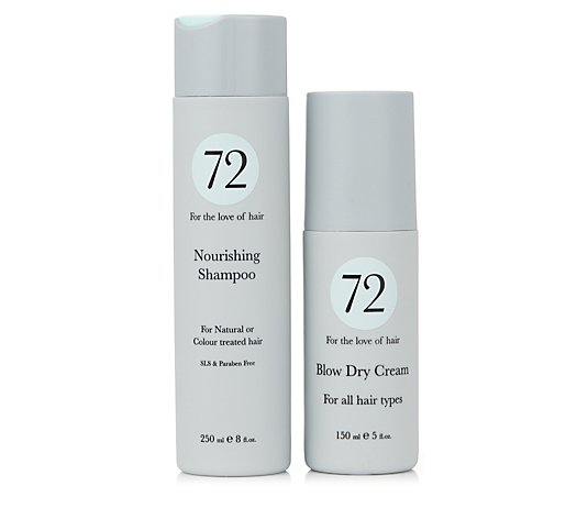 72 Hair Nourishing Shampoo & Blow Dry Cream
