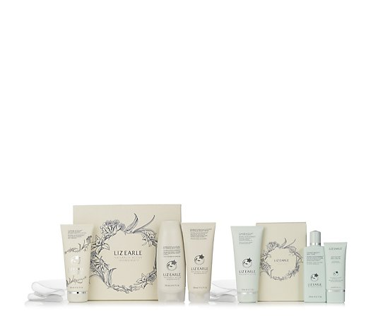 Liz Earle Bourbon Vanilla & Clove Bud 6 Piece  Face and Body Gift Collection