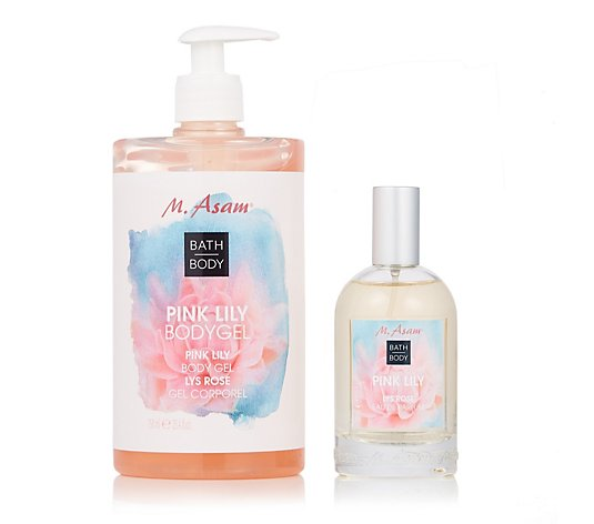 M. Asam 2 Piece Pink Lily Fragrance Collection