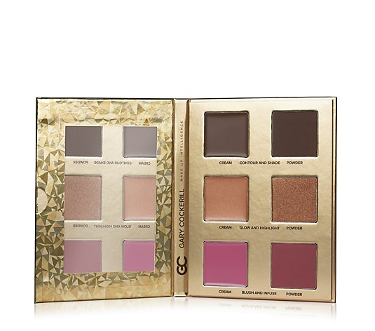 Gary Cockerill Face Contour Glow & Blush Palette
