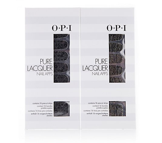 OPI 2 Piece Pure Lacquer Nail Apps Collection