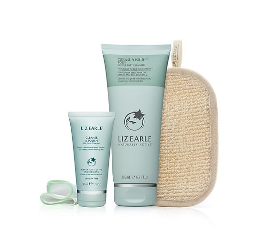 Liz Earle Cleanse & Polish Body With Mitt