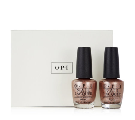 OPI Worth a Pretty Penne Duo with Gift Box