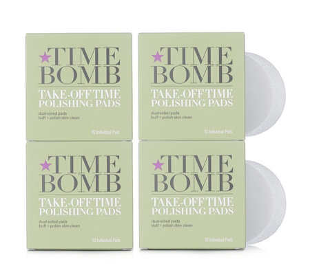 Lulu's Time Bomb Take Off Time Polishing & Cleansing Pads