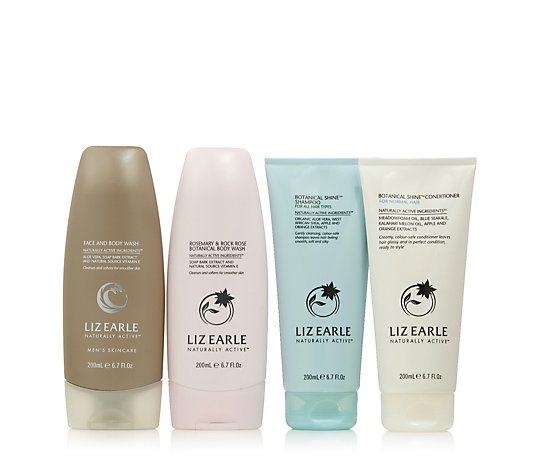 Liz Earle His and Her Daily Shower Essentials