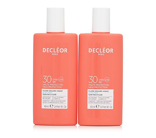 Decleor Aloe Vera Sun SPF Face Protection Duo