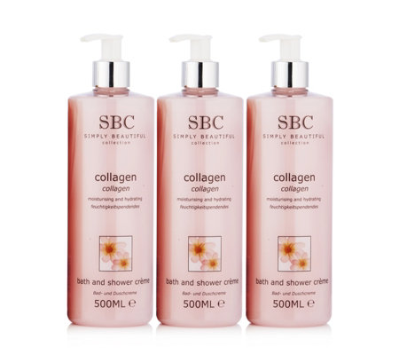 SBC Favourites Bath and Shower Trio 500ml