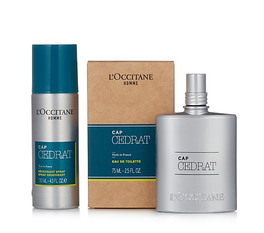 L'Occitane Cap Cedrat Men's Fragrance Duo