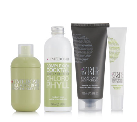Lulu's Time Bomb 4 Piece Supersize Complete Skincare Collection