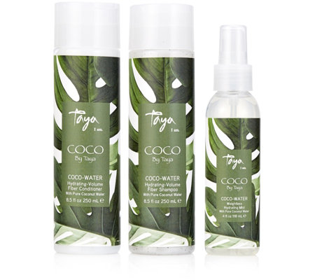 Taya 3 Piece Coco Water Hydrating Volume Haircare Collection