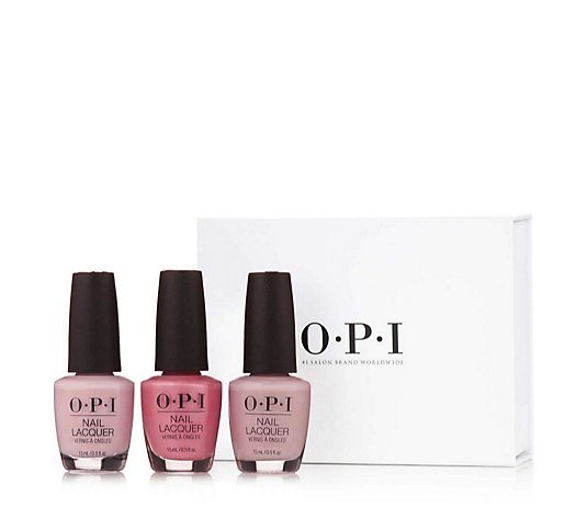 OPI 3 Piece Classics Collection