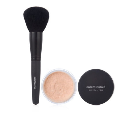 Bareminerals Mineral Veil & Brush
