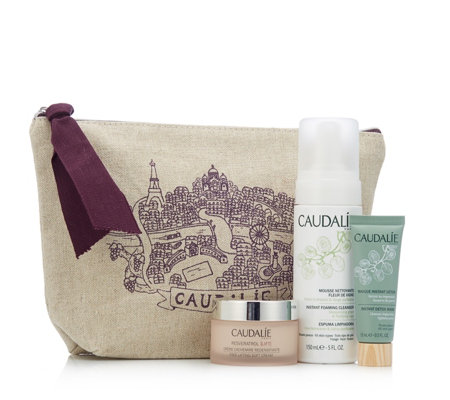 Caudalie 3 Piece Anti-Ageing Excellence Collection