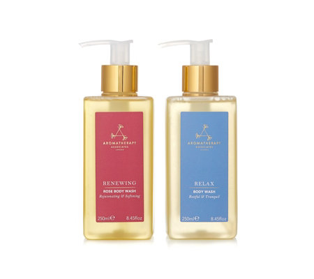 Aromatherapy Associates 2 Piece Relax & Renew Body Wash