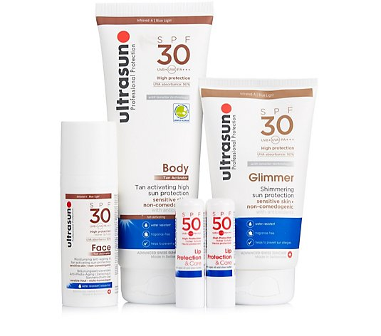 Ultrasun 5 Piece Complete Sun Protection Collection