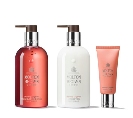 Molton Brown Heavenly Gingerlily 3 Piece Hand Collection