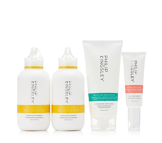 Philip Kingsley Cleanse & Maintenance 4 Piece Collection