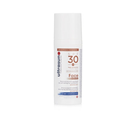 Ultrasun Sun Protection Face Tan Activator SPF 30 50ml