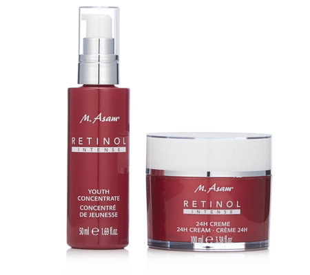 M. Asam 2 Piece Retinol Intense Skincare Collection