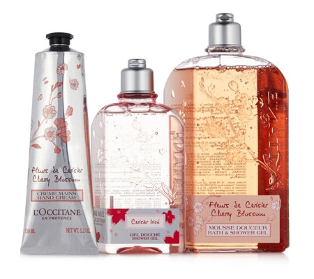 L'Occitane 3 Piece Cherry Collection