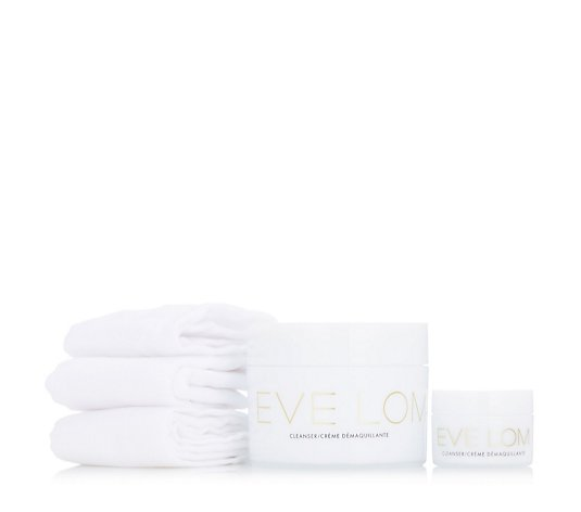 Eve Lom Supersize Home & Away 200ml & 20ml Cleanser Duo