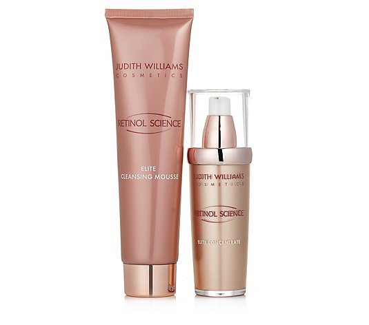 Judith Williams Retinol Science Elite Concentrate 60ml & Cleansing Mousse 150ml