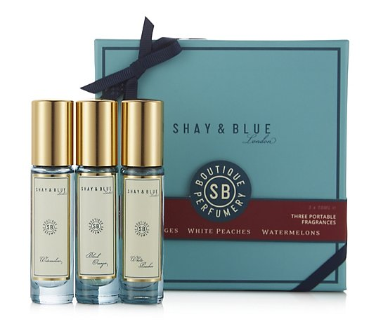 Shay & Blue 3 Piece Precious Miniature Eau De Parfum Collection