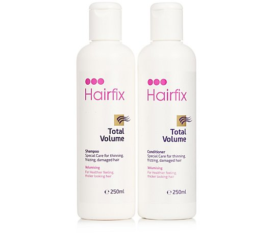 Hairfix Total Volume Shampoo & Conditioner 250ml