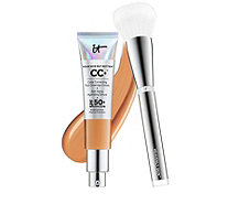 IT Cosmetics Full Coverage SPF 50+CC Cream & Heavenly Skin Brush - 230337