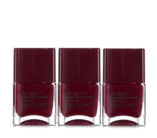 Nails Inc Kensington High Street 14ml Trio