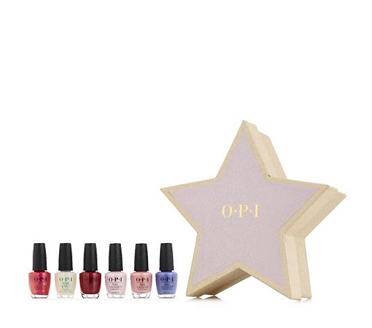 OPI 6 Piece Hollywood Dreaming Collection & Box