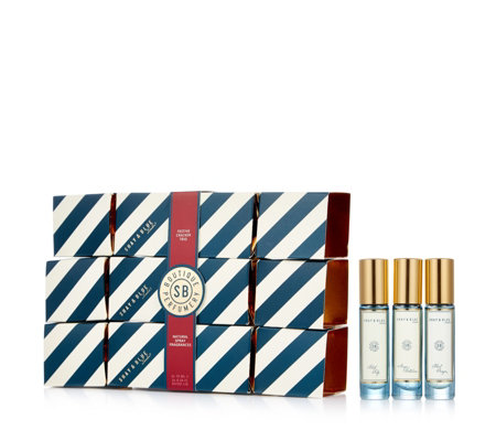Shay & Blue 3 Piece Fragrance Crackers Eau De Parfum Collection
