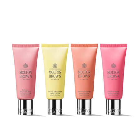 Molton Brown 4 Piece Luxury Hand Cream 40ml