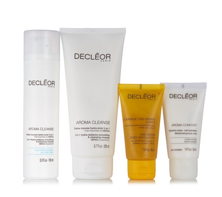 Decleor 4 Piece Cleanse & Hydrate Skincare Collection