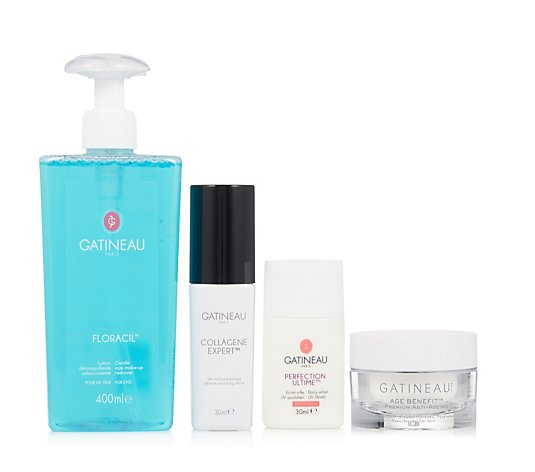 Gatineau 4 Piece Collagen Hydrate & Glow Skincare Collection