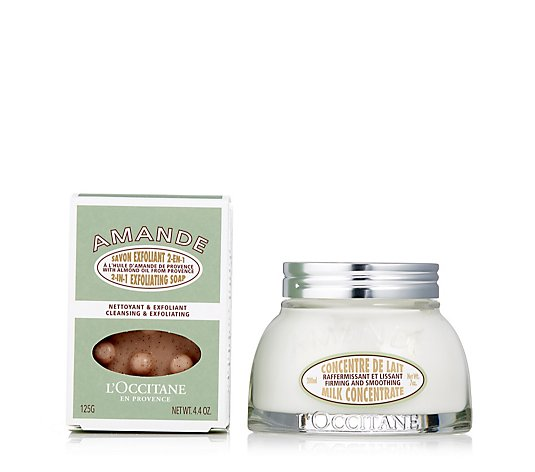 L'Occitane 2 Piece Smooth Your Skin with Almonds Set