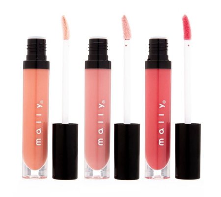 Mally Kiss Me Lip Gloss Trio