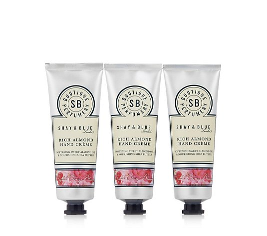 Shay & Blue Trio of Rich Almond Hand Creme