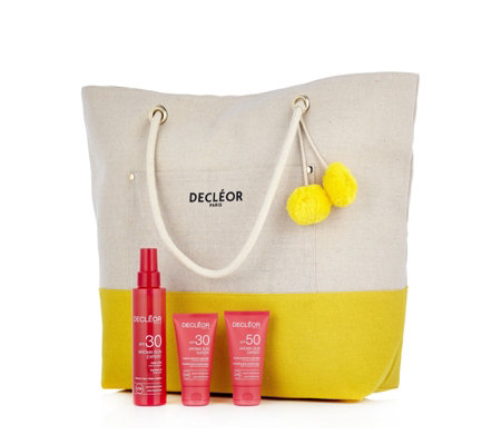 Decleor 3 Piece Anti-Wrinkle Aroma Sun Expert Collection & Bag