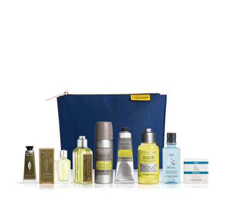 L'Occitane 8 Piece Men's Groom On the Go Collection