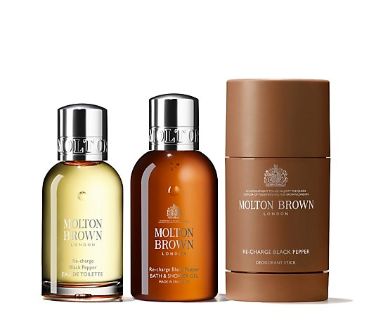 Molton Brown 3 Piece Fragrance Layering Collection