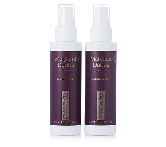 Margaret Dabbs Foot Cooling & Cleansing Spray Duo